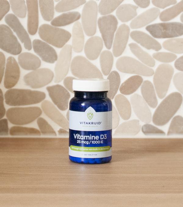 Vitamine D3 25 mcg 1000 IE